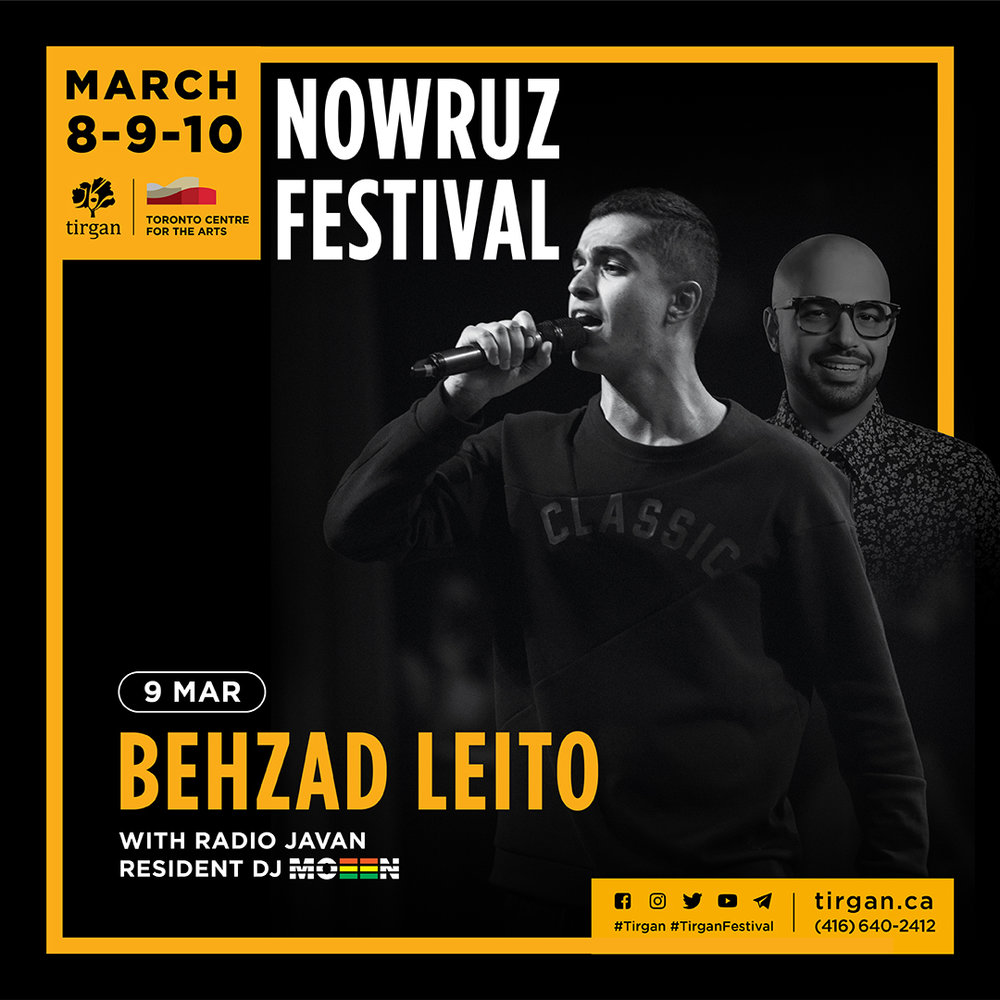 Tirgan Nowruz with Behzad Leito and DJ Moeen