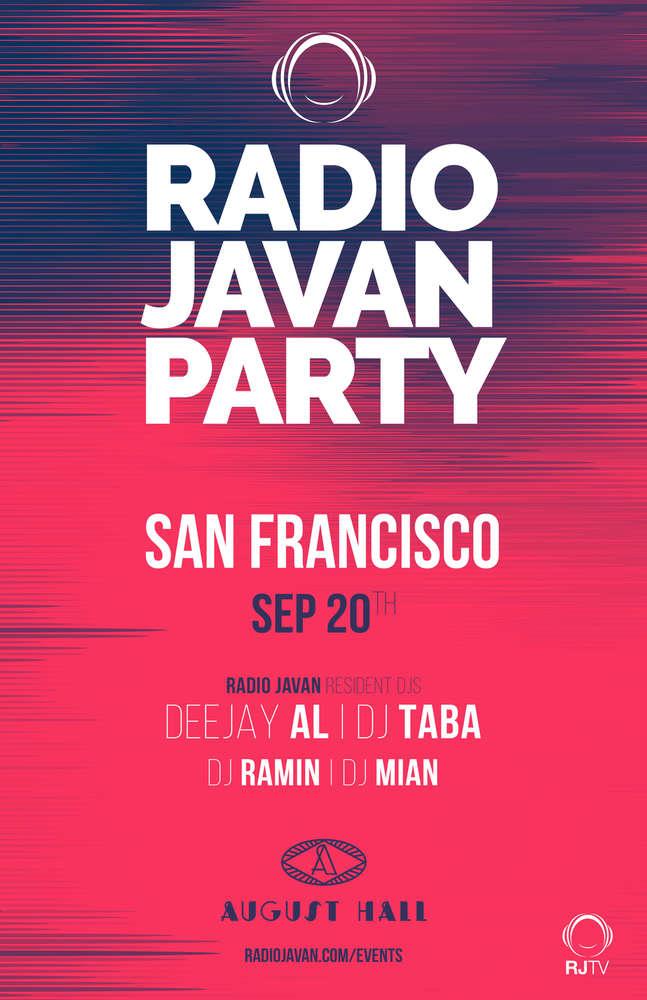 Radio Javan Party San Francisco
