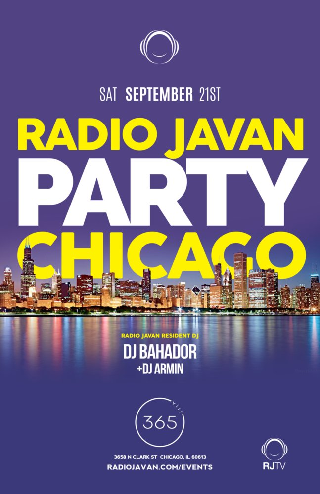 Radio Javan Party Chicago