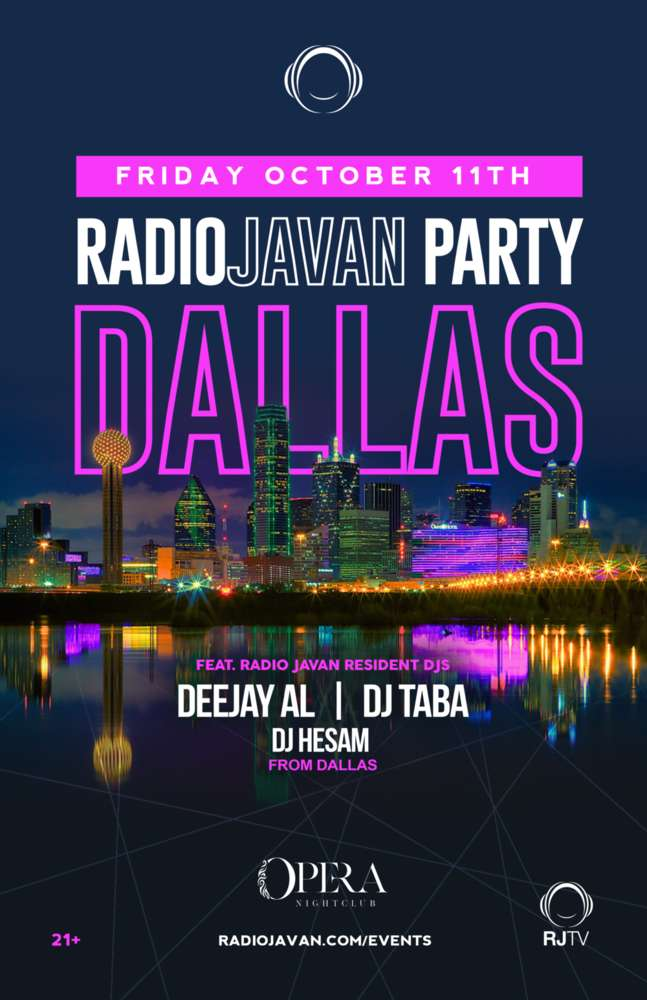 Radio Javan Party in Dallas