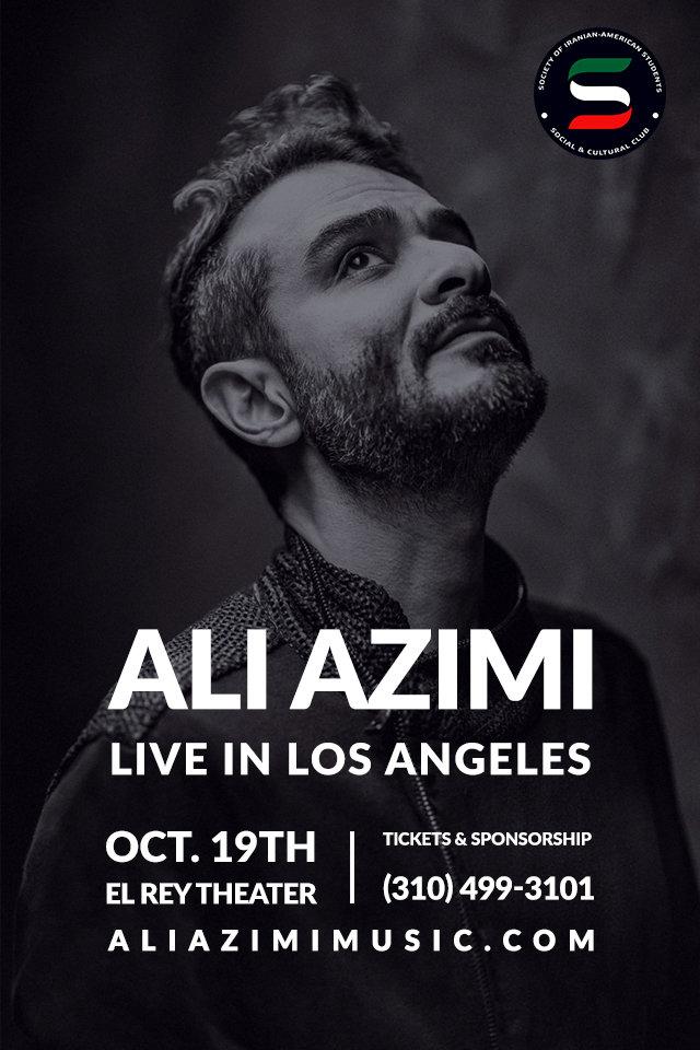 Ali Azimi Live in Los Angeles