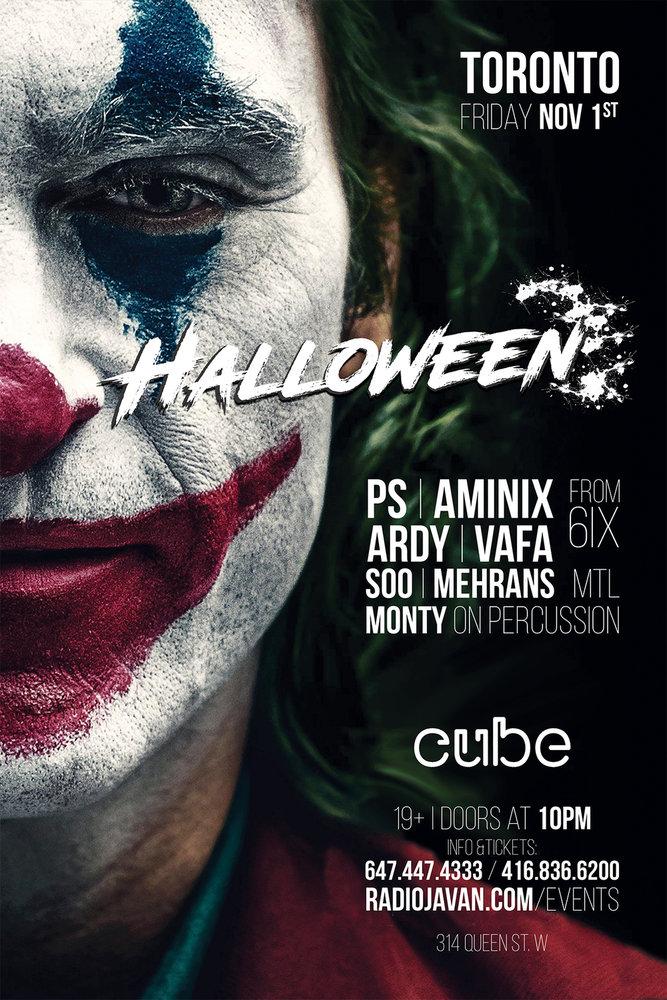 Halloween Party in Toronto