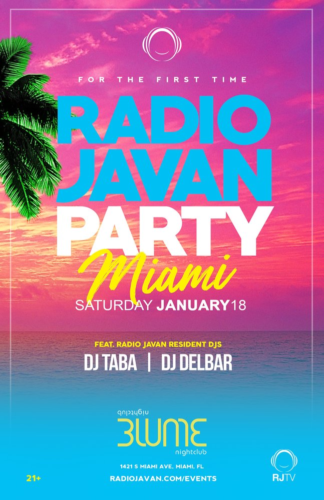 Radio Javan Party in Miami