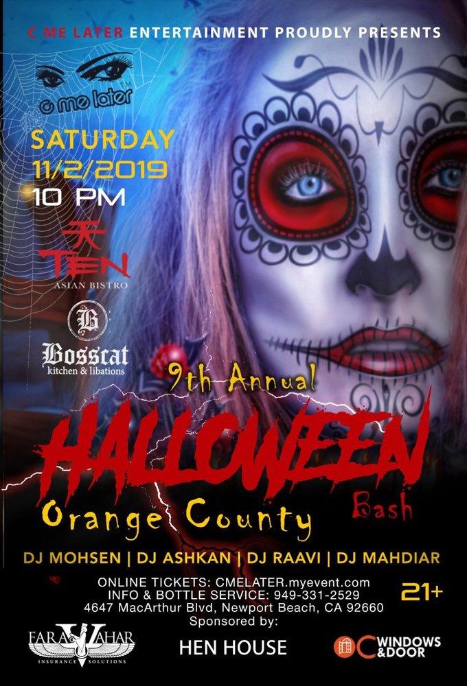 Halloween Party Orange County