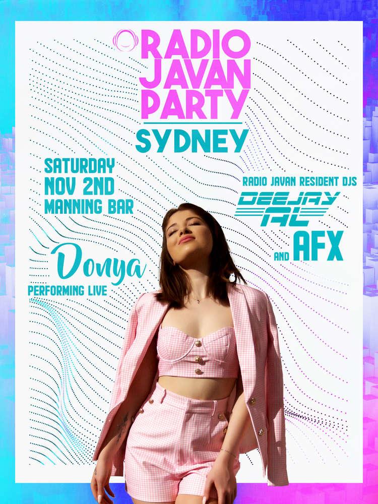 Radio Javan Party In Sydney With Donya