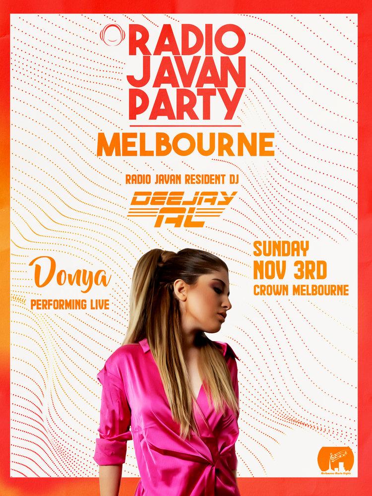 Radio Javan Party In Melbourne With Donya