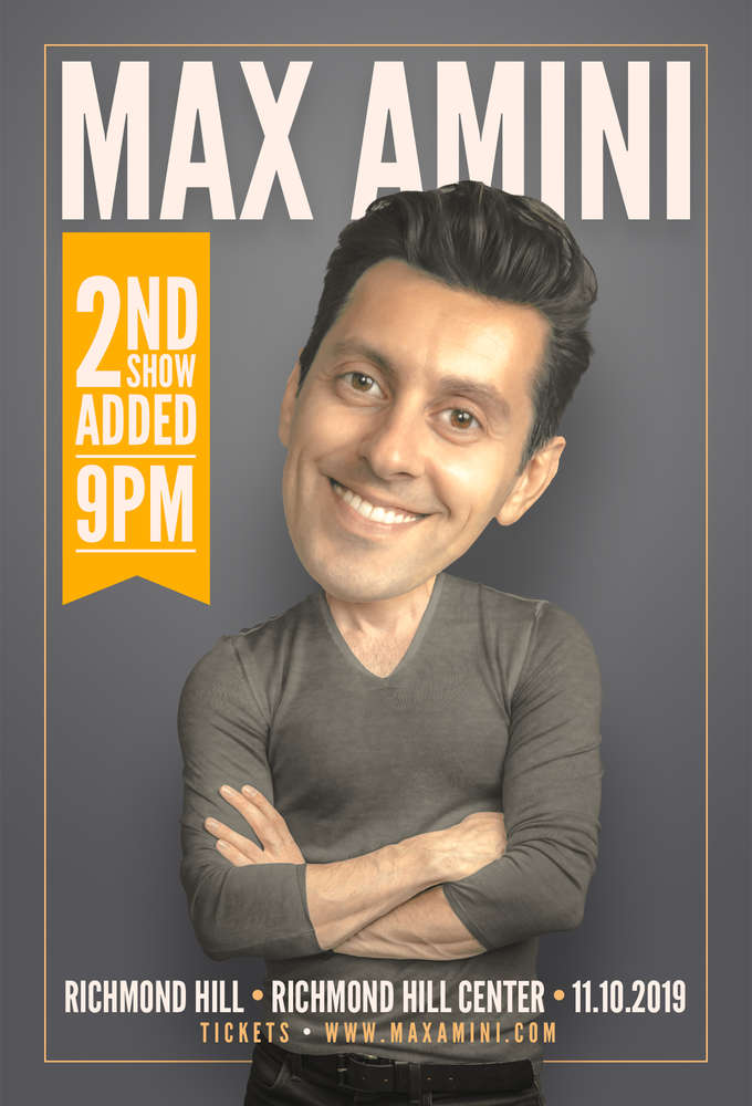 Max Amini Live in Richmond Hill