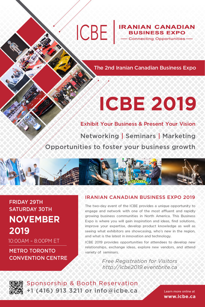 Iranian Canadian Business Expo 2019