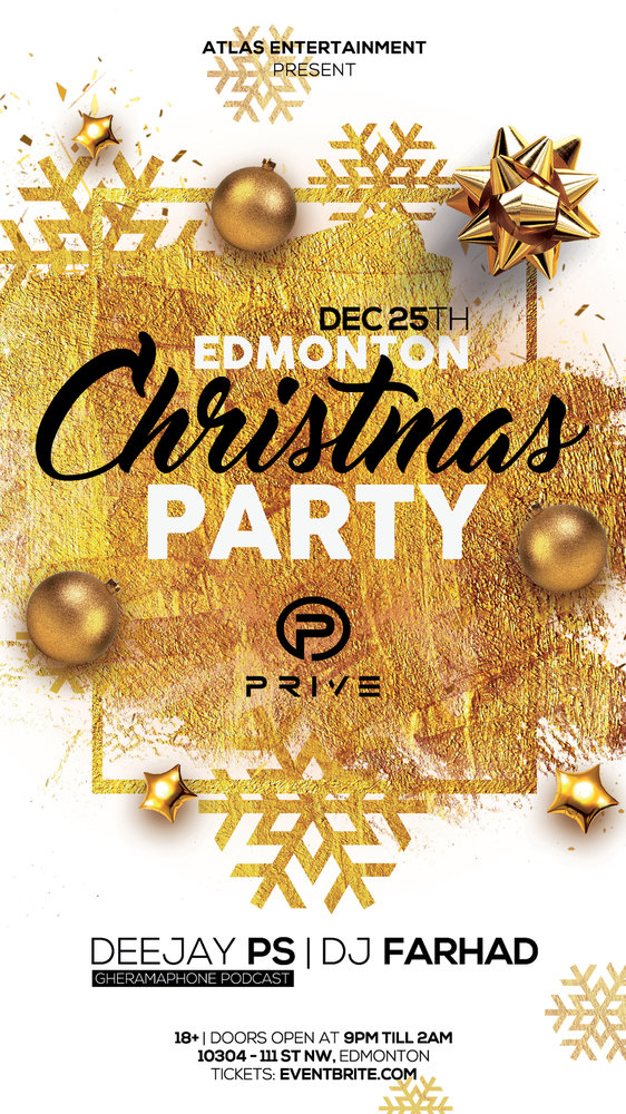 Christmas Party in Edmonton
