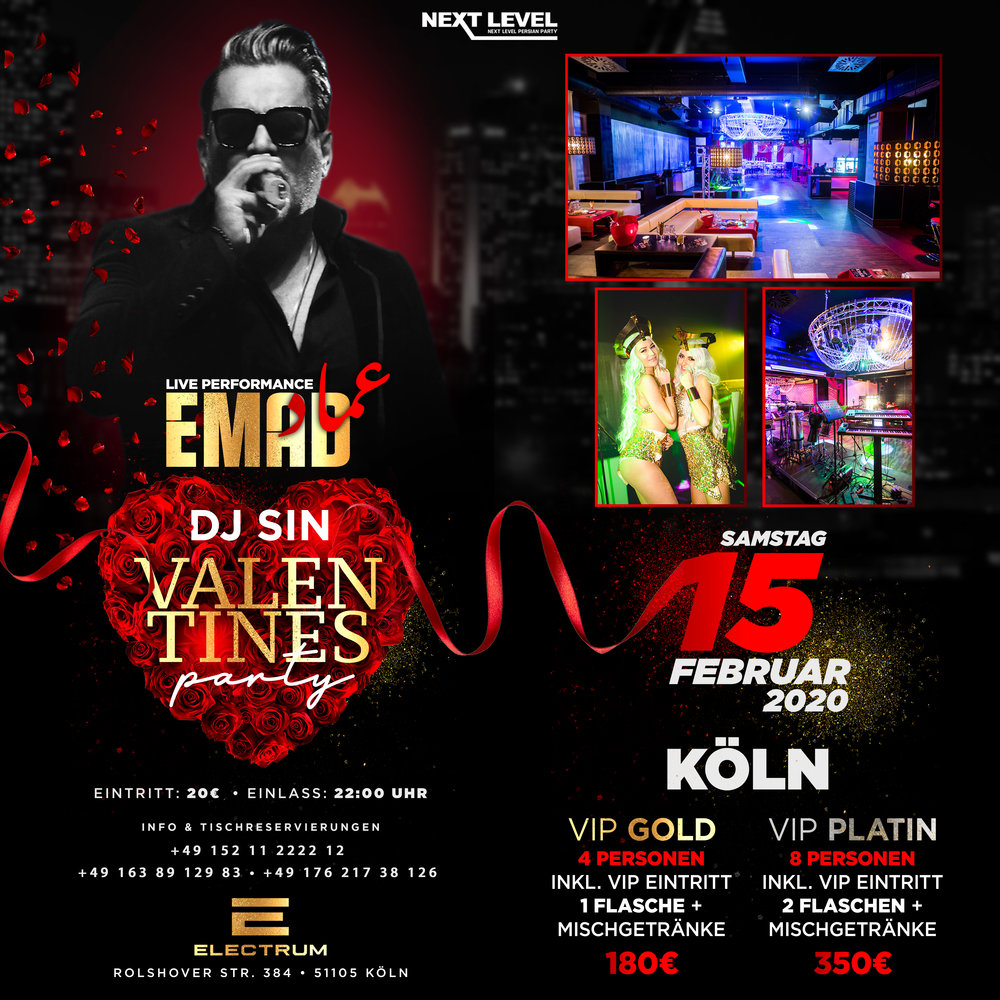 Valentine's Party in Cologne