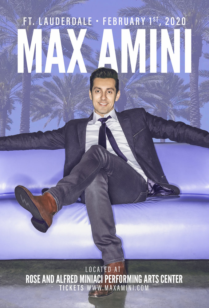 Max Amini Live in Ft. Lauderdale