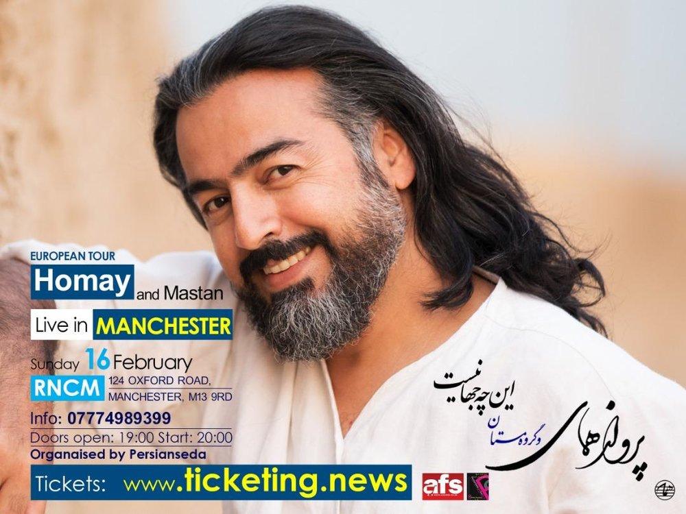 Parvaz Homay & Mastan Ensemble In Manchester