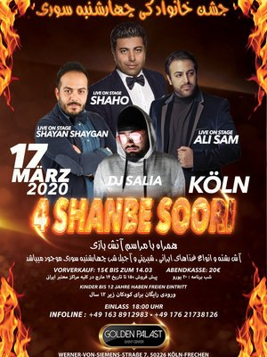 4Shanbe Soori in Cologne