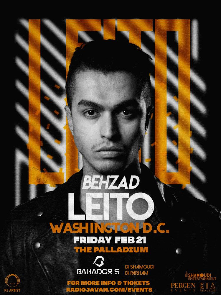 Behzad Leito Live in Washington D.C.