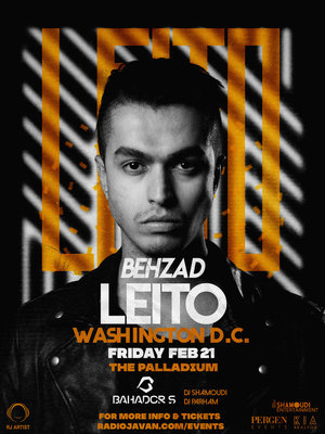 Behzad Leito Live in Washington D.C.