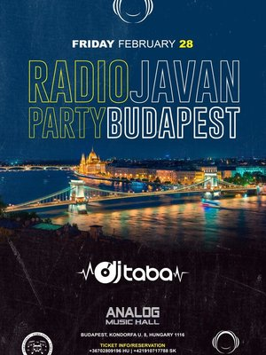 Radio Javan Party in Budapest