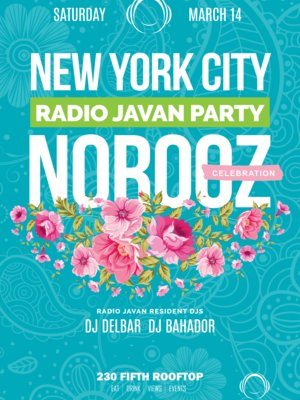 Radio Javan Norooz Party in New York City