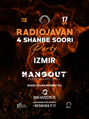 Radio Javan 4 Shanbe Soori Party