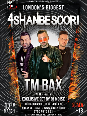 TM Bax Live In London