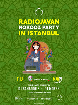Radio Javan Norooz Party in Istanbul