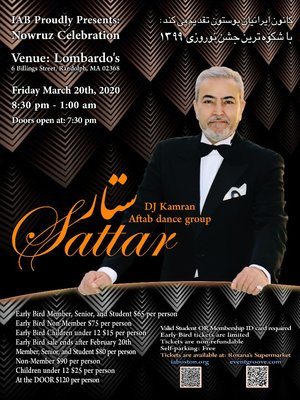 Nowruz Celebration With Sattar