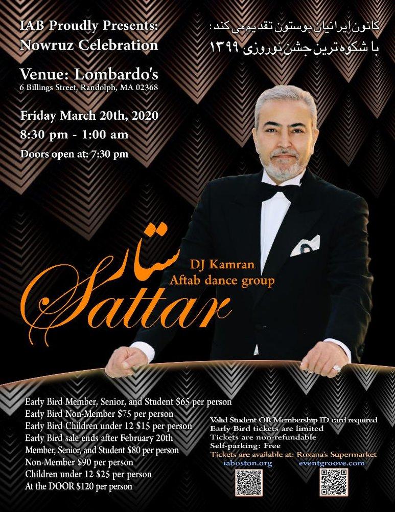 Nowruz Celebration With Sattar
