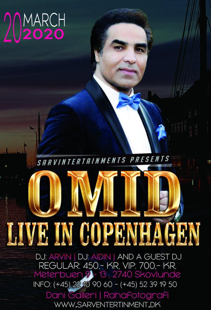 Omid Live In Copenhagen