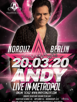 Andy Live in Berlin