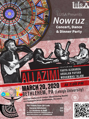 Nowruz Dinner Party With Ali Azimi in Lehigh Valley, PA