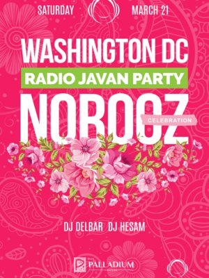Radio Javan Norooz Party Washington DC