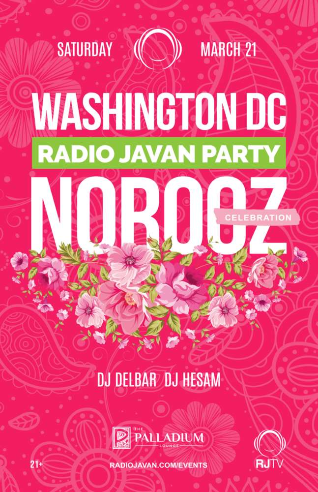 Radio Javan Norooz Party Washington DC