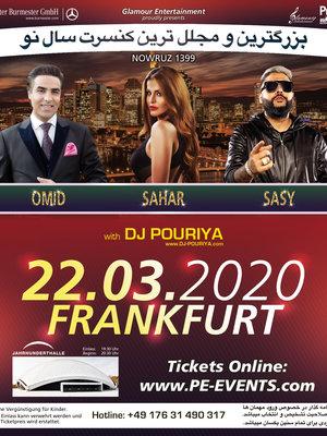 Omid, Sahar, & Sasy in Frankfurt
