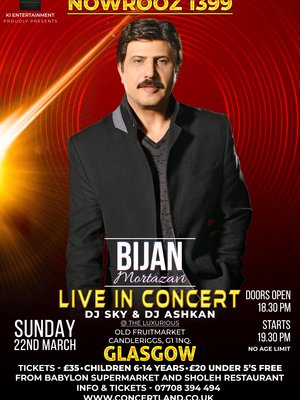 Bijan Mortazavi Live In Glasgow