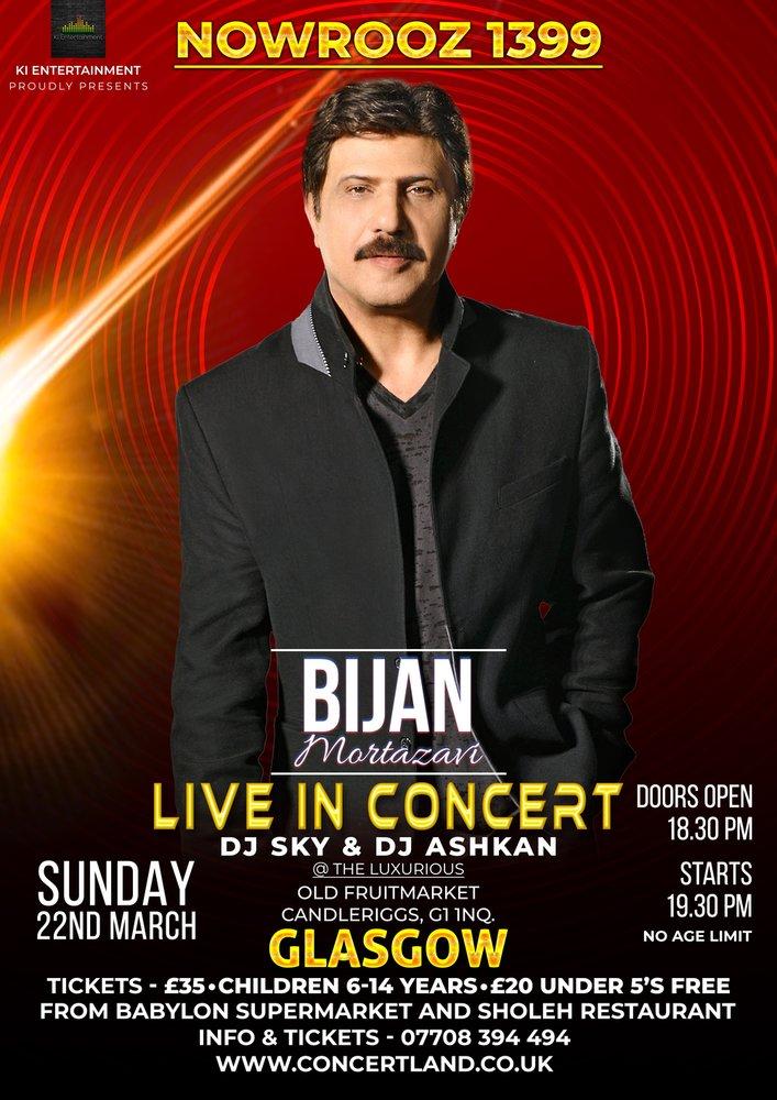 Bijan Mortazavi Live In Glasgow