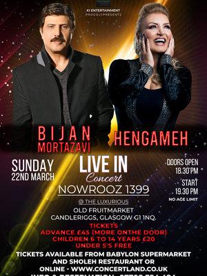 Bijan Mortazavi & Hengameh Live In Glasgow