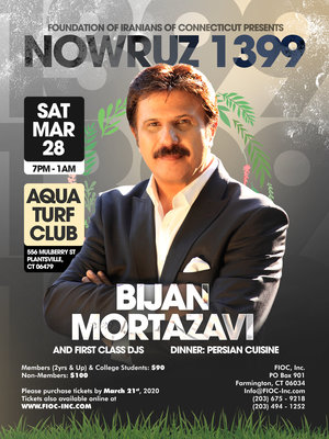 Nowruz Party with Bijan Mortazavi in Connecticut