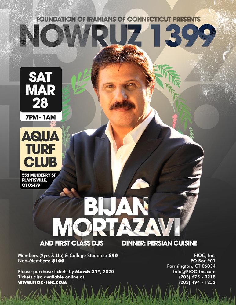 Nowruz Party with Bijan Mortazavi in Connecticut
