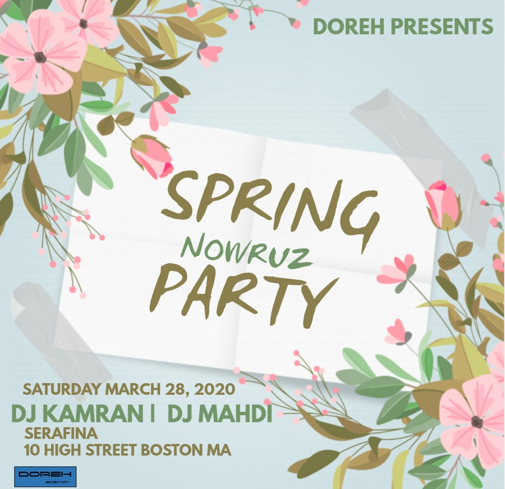 Spring Nowruz Party in Boston