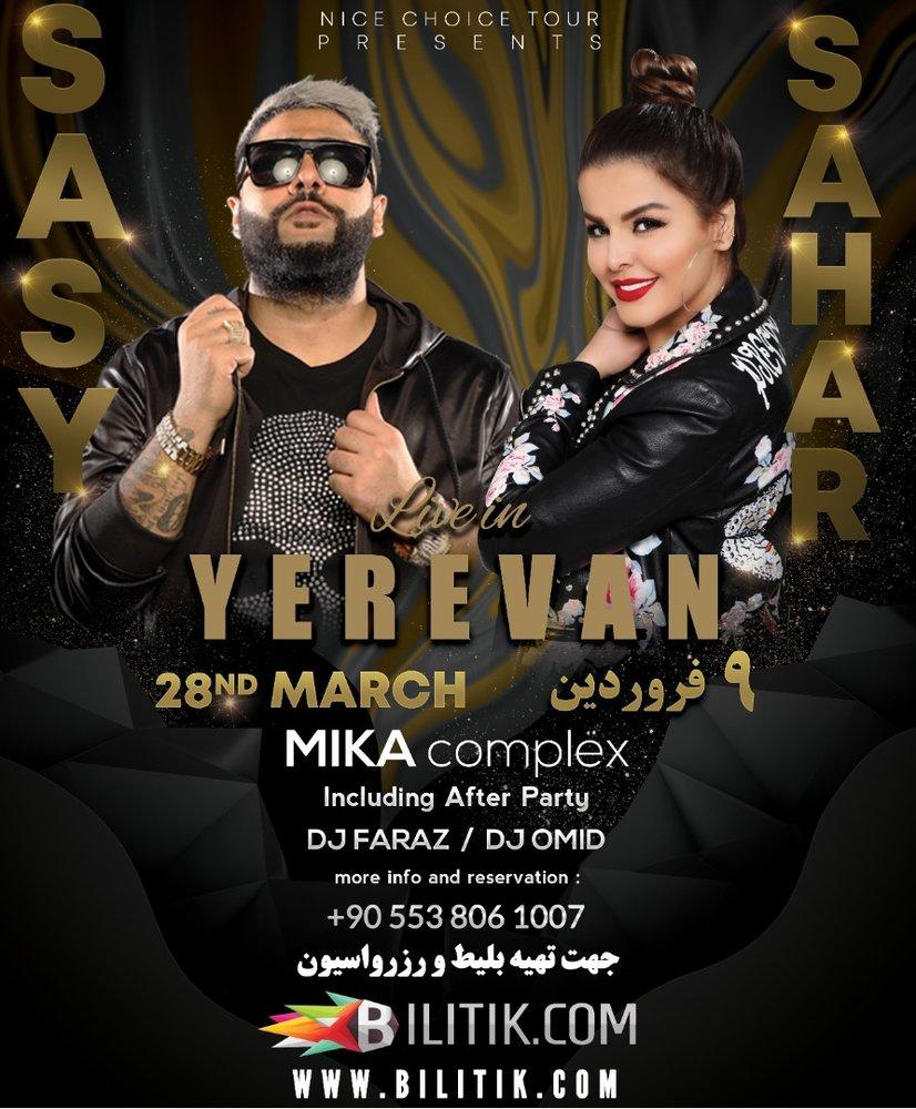 Sahar and Sasy Live in Yerevan