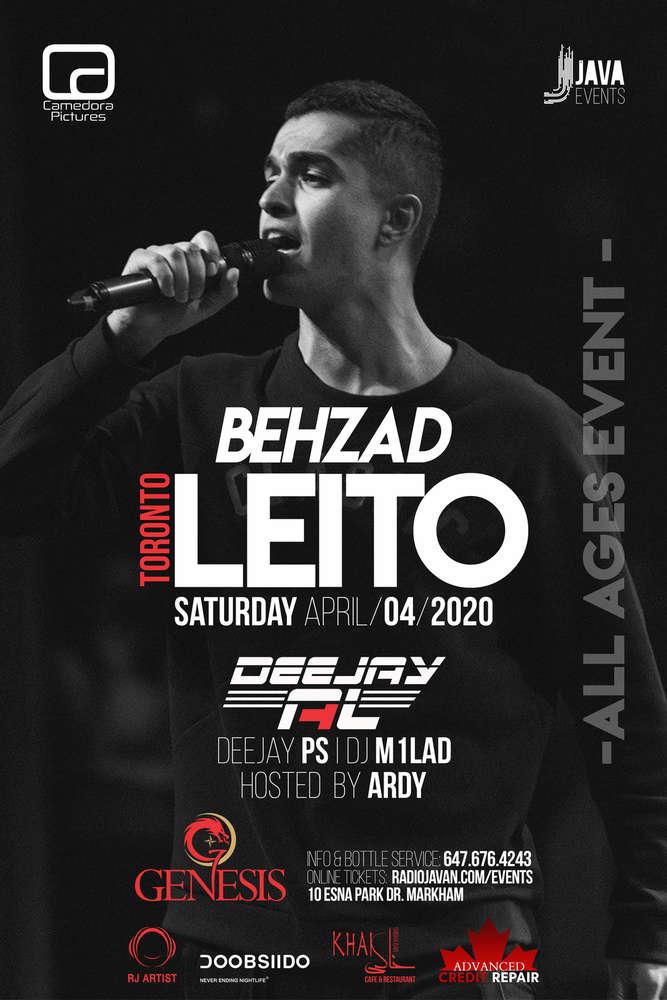 Behzad Leito Live in Toronto