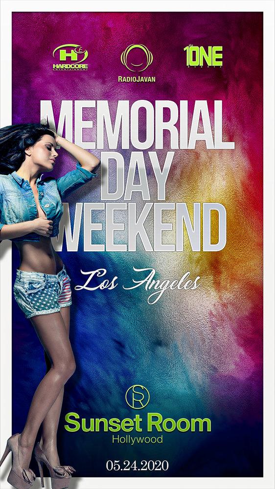 Los Angeles Radio Javan Party - Memorial Day Weekend