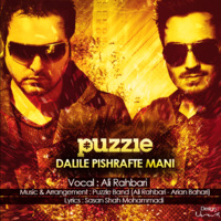 Ali Rahbari - 'Dalile Pishrafte Mani (Puzzle Radio Edit)'