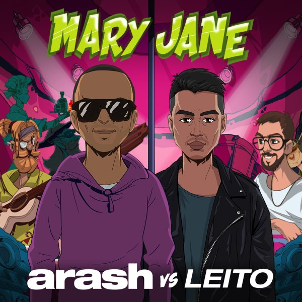 Arash - 'Mary Jane (Ft Behzad Leito)'