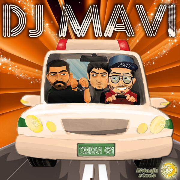 Hichkas & Pishro - Bazam Kalan (DJ Mavi Club Mix)