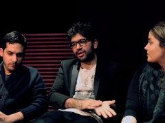 Alireza JJ, Sijal, Nassim - 'Tehran Times Interview'