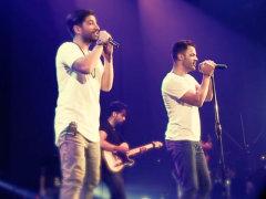 Xaniar - 'Bedoone To (Ft Sirvan Khosravi) Live'