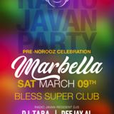 Radio Javan Party in Marbella Spain 2019